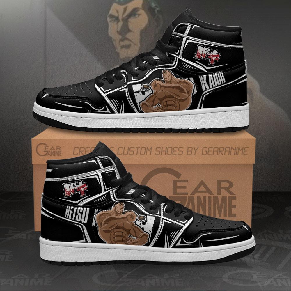 Retsu Kaioh Sneakers Baki Custom Anime Air Jordan Shoes