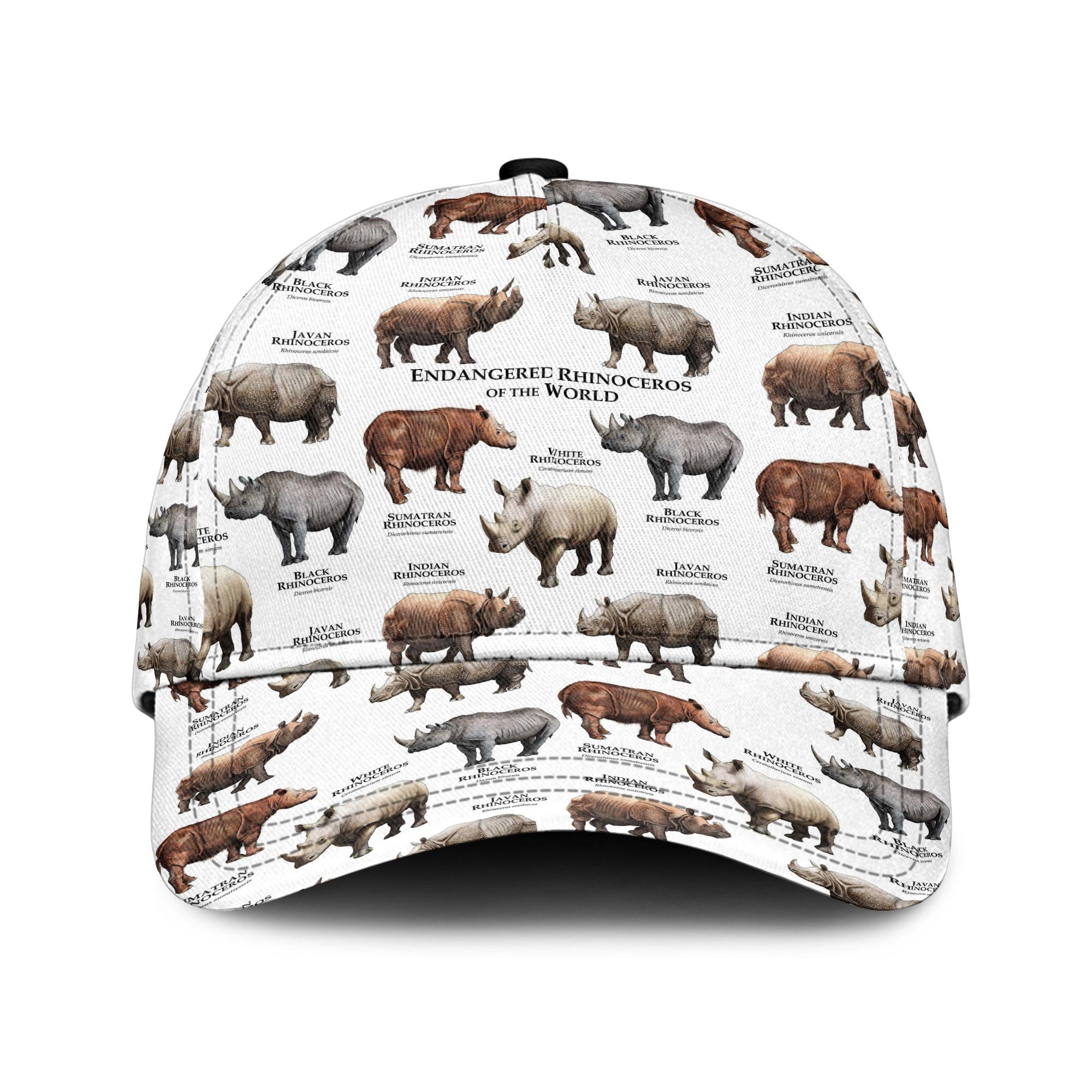 Rhinoceros Of The World Sku 184 Classic Cap