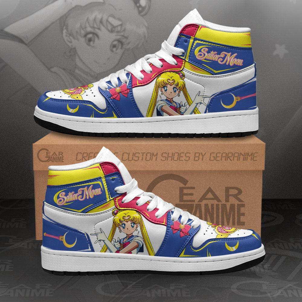 Sailor Moon Sneakers Custom Anime Air Jordan Shoes