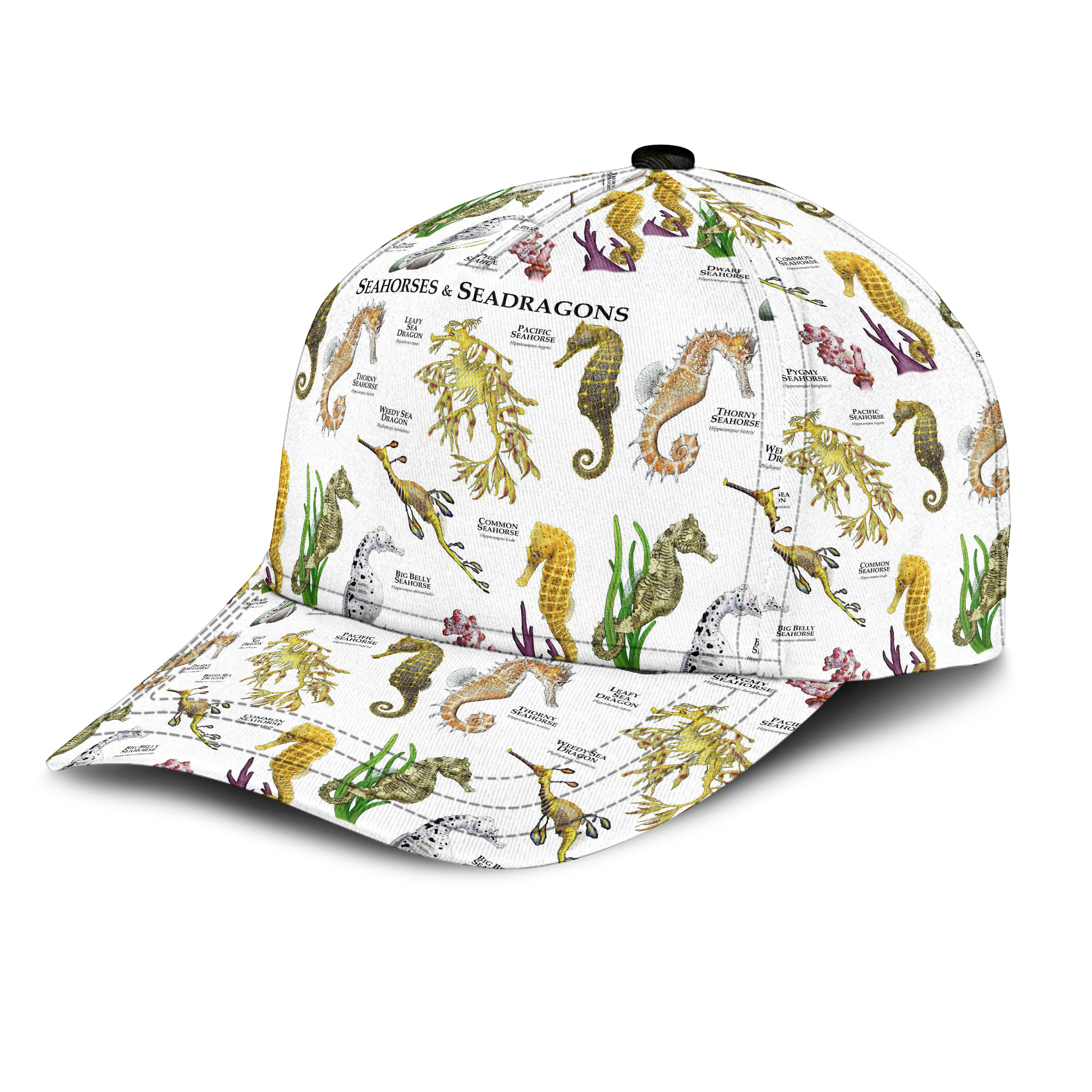Seahorses And Seadragons Of The World Sku 187 Classic Cap