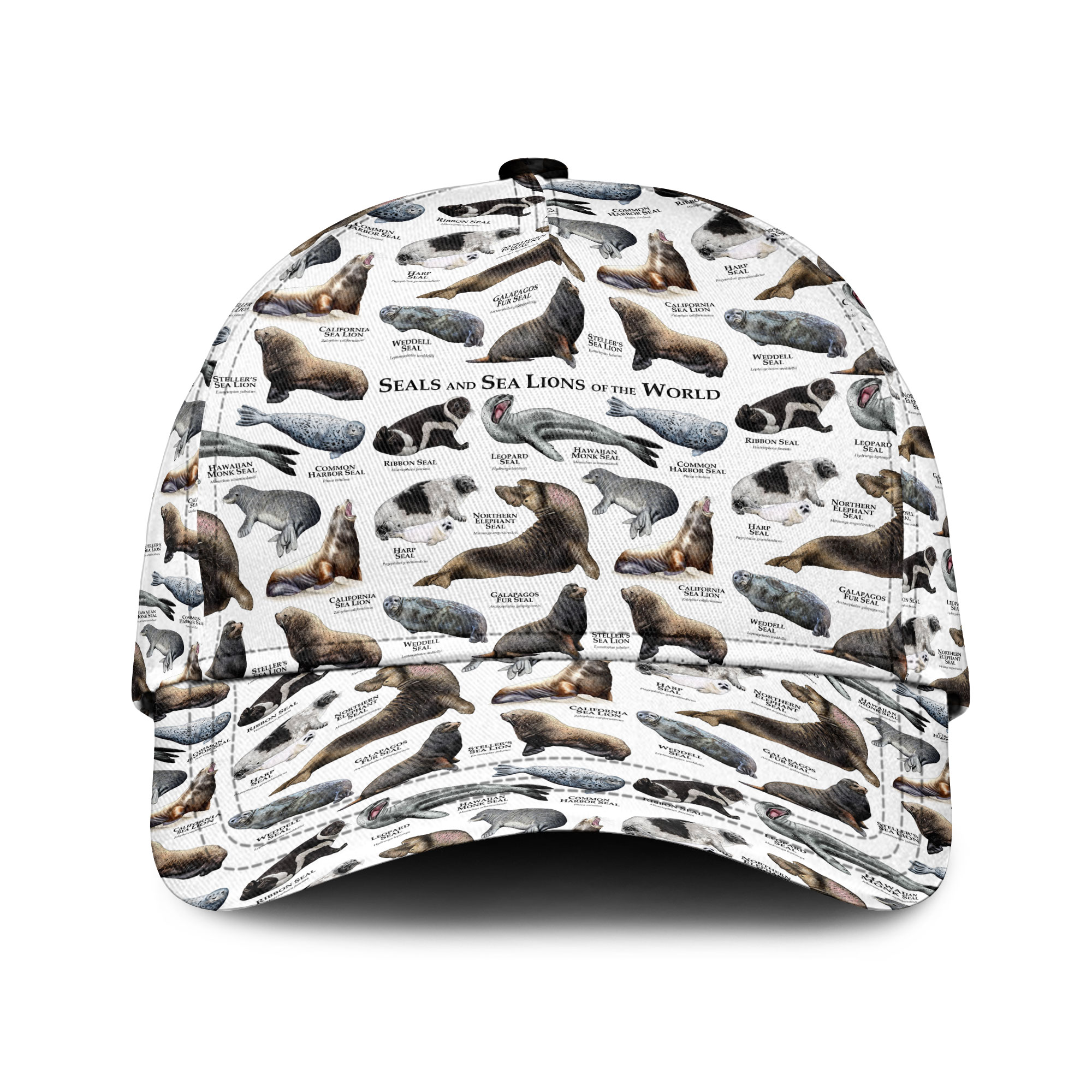 Seal And Sea Lions Of The World Sku 188 Classic Cap