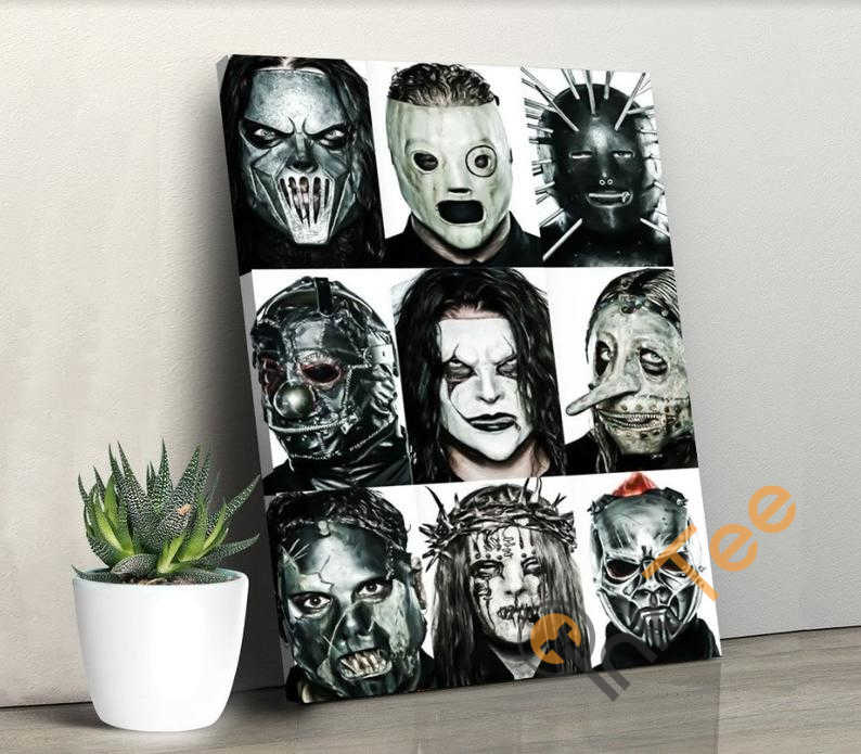 Slipknot Print Singer Art No 340 Poster