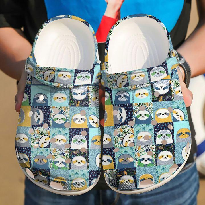 Sloth Adorable Sloths Sku 2209 Crocs Clog Shoes