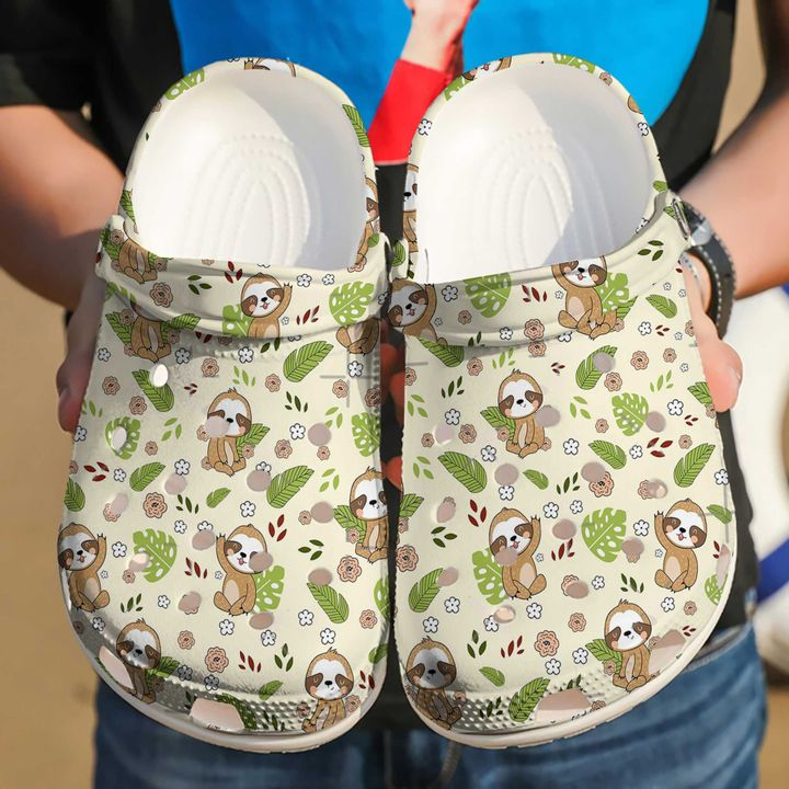 Sloth Hi Sku 2217 Crocs Clog Shoes