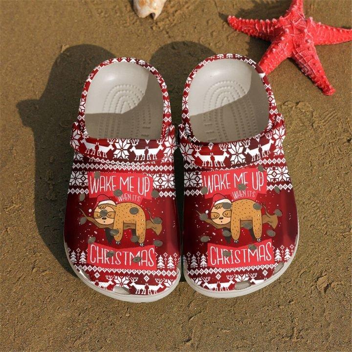 Sloth Wake Me Up Sku 2232 Crocs Clog Shoes