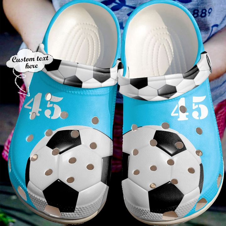 Soccer Personalized Lovers Sku 2255 Crocs Clog Shoes
