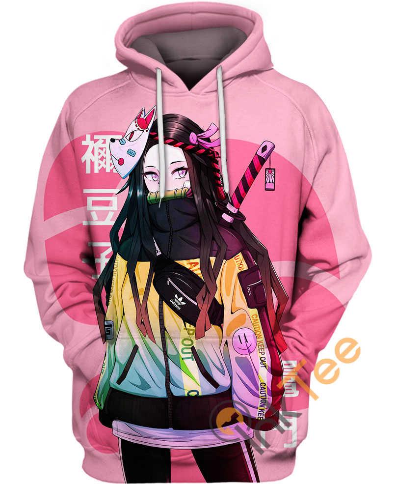 Street Style Nezuko Kamado Amazon Best Selling Hoodie 3D