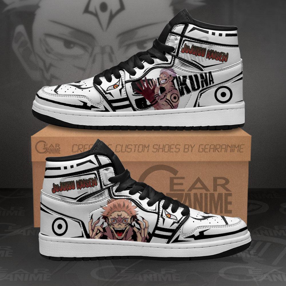 Sukuna Jujutsu Kaisen Sneakers Anime Air Jordan Shoes