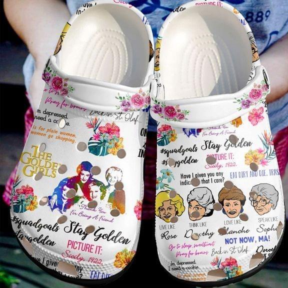The Golden Girls No30 Crocs Clog Shoes