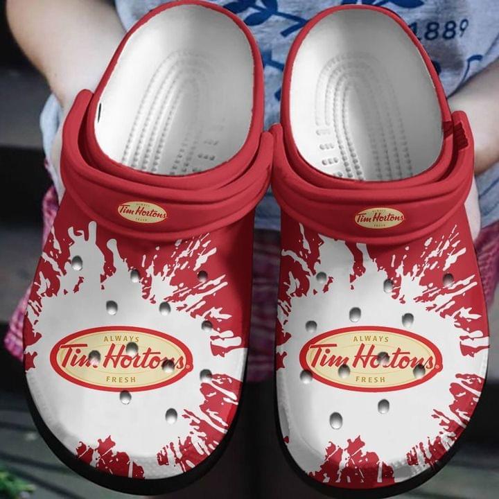 Tim Hortors No27 Crocs Clog Shoes
