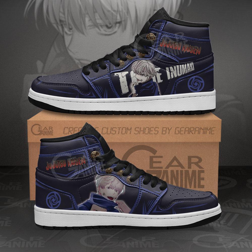 Toge Inumaki Sneakers Jujutsu Kaisen Anime Air Jordan Shoes