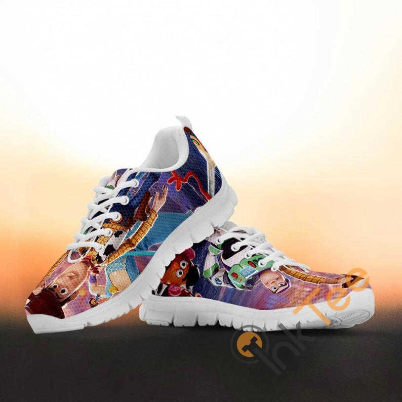 Toy Story Custom Painted Disney Pixar Animated Movie Running No 316 Nike Roshe Shoes