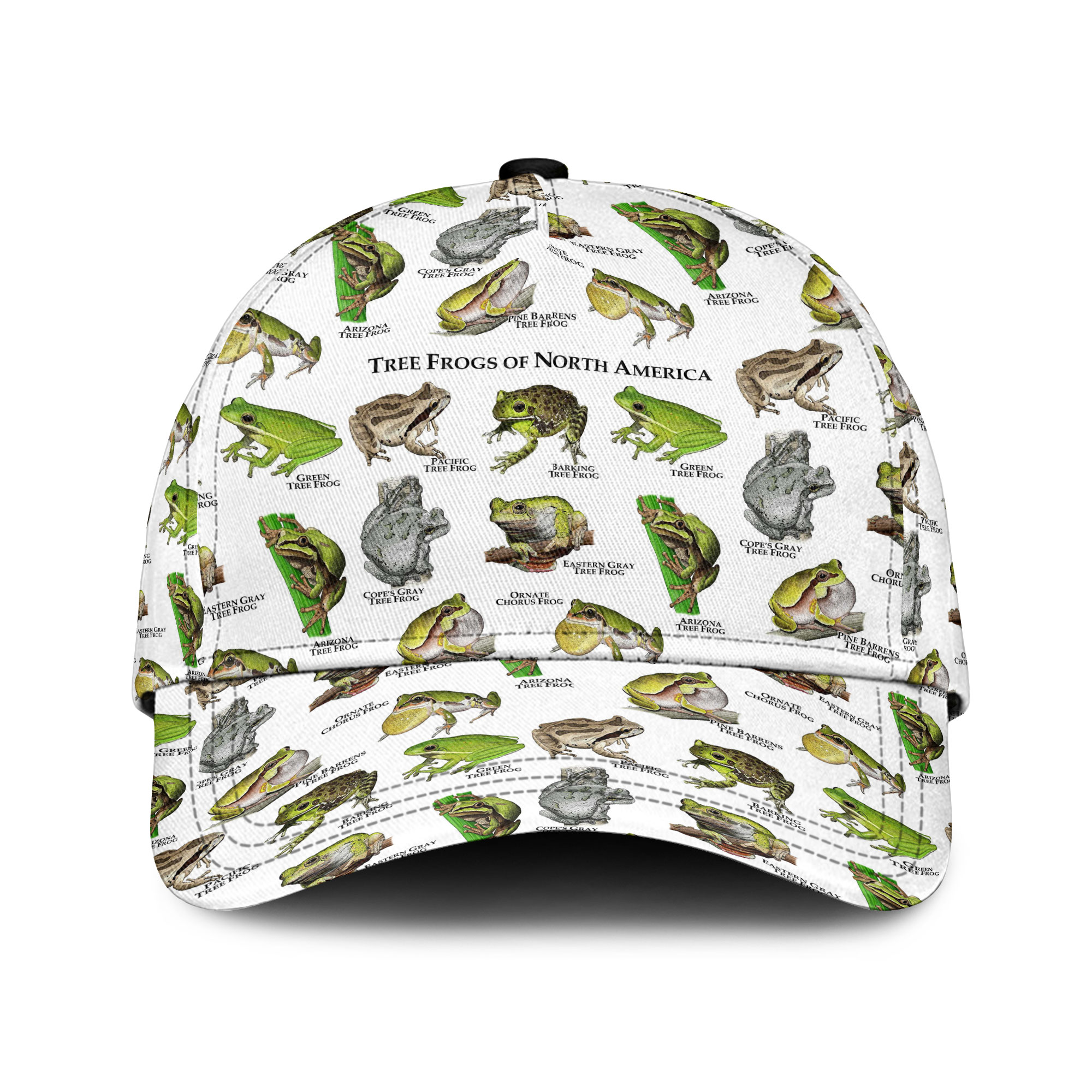 Tree Frogs Of North America Sku 196 Classic Cap