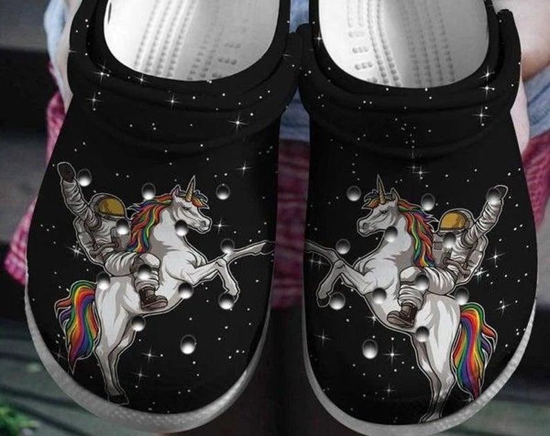 Unicorn Crocs Clog Shoes