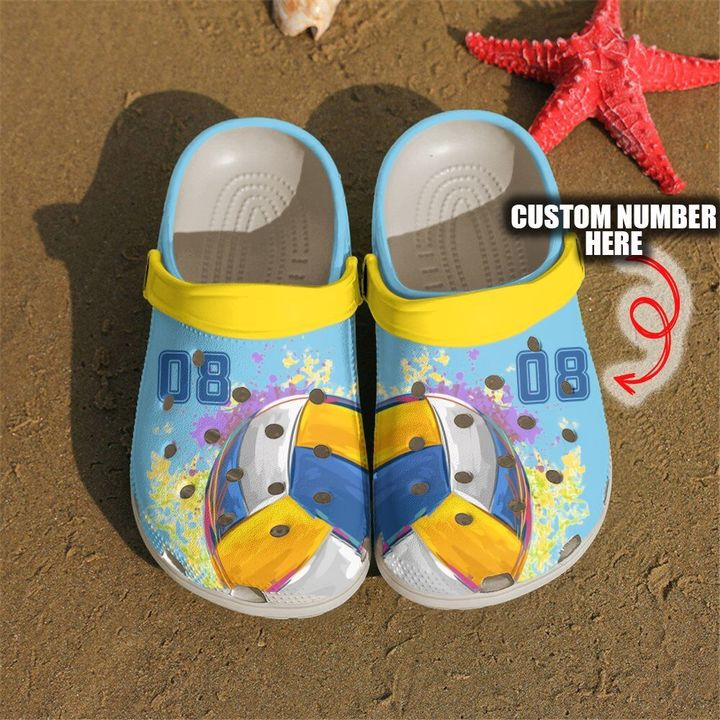 Volleyball Personalized Ball Sku 2644 Crocs Clog Shoes
