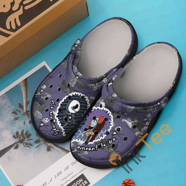 We Are Simply Mean To Be The Nightmare Before Christmas Movie Crocs Clog Shoes
