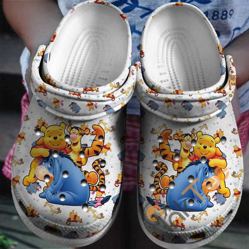Winnie The Pooh Cartoon Movie Crocs Clog Shoes