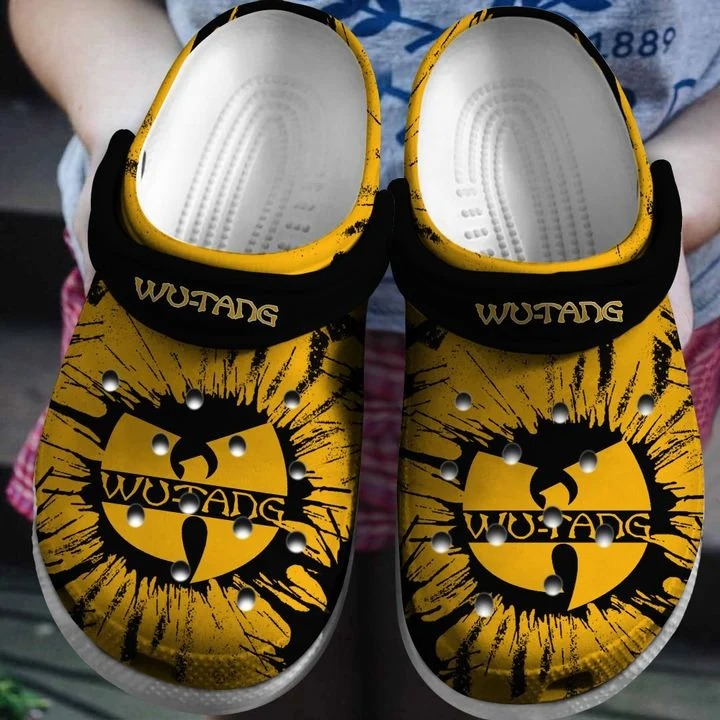Wu Tang Clan No26 Crocs Clog Shoes