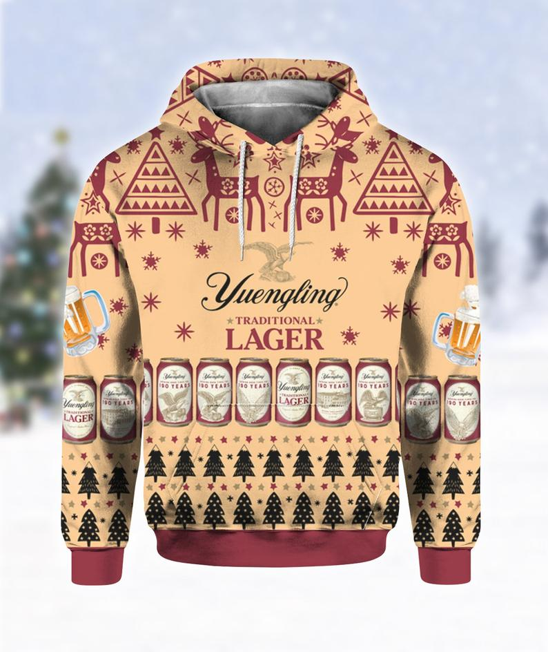 Yuengling Lager Beer Ugly Sweater