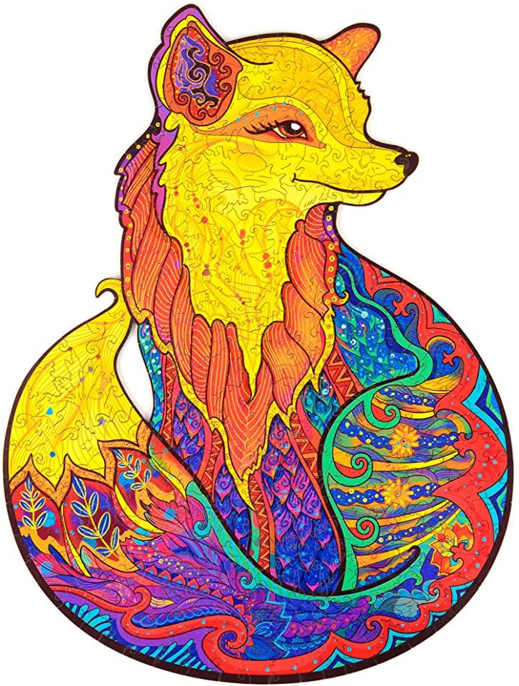 Alluring Fox Jigsaw Puzzle