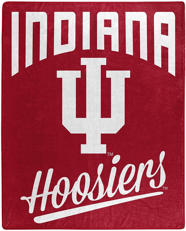 Alumni Silk Touch Throw Blanket Indiana Hoosiers Fleece Blanket