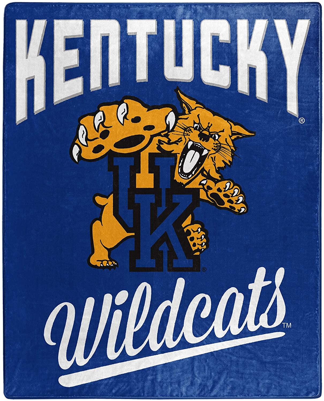 Alumni Silk Touch Throw Blanket Kentucky Wildcats Fleece Blanket