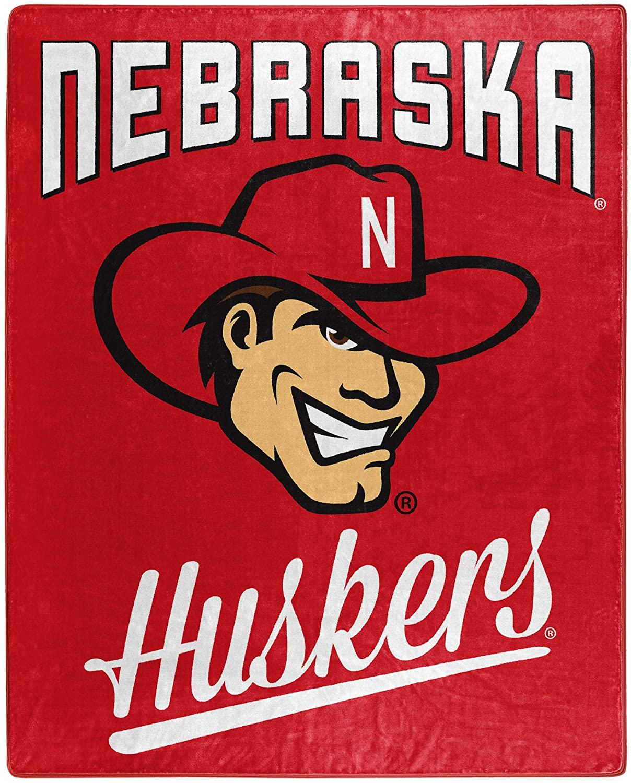 Alumni Silk Touch Throw Blanket Nebraska Cornhuskers Fleece Blanket