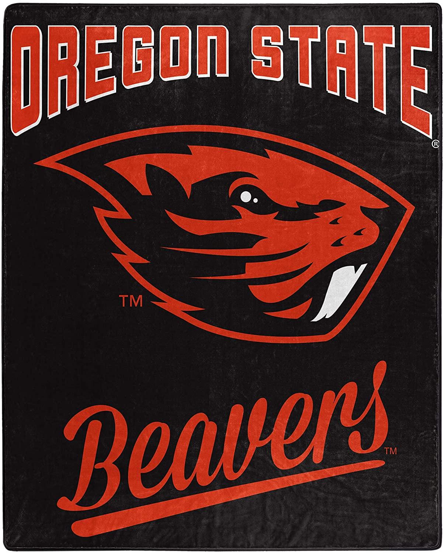 Alumni Silk Touch Throw Blanket Oregon State Beavers Fleece Blanket