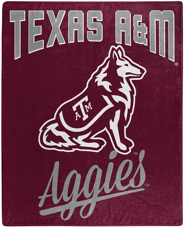 Alumni Silk Touch Throw Blanket Texas A&m Aggies Fleece Blanket