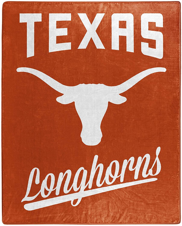 Alumni Silk Touch Throw Blanket Texas Longhorns Fleece Blanket