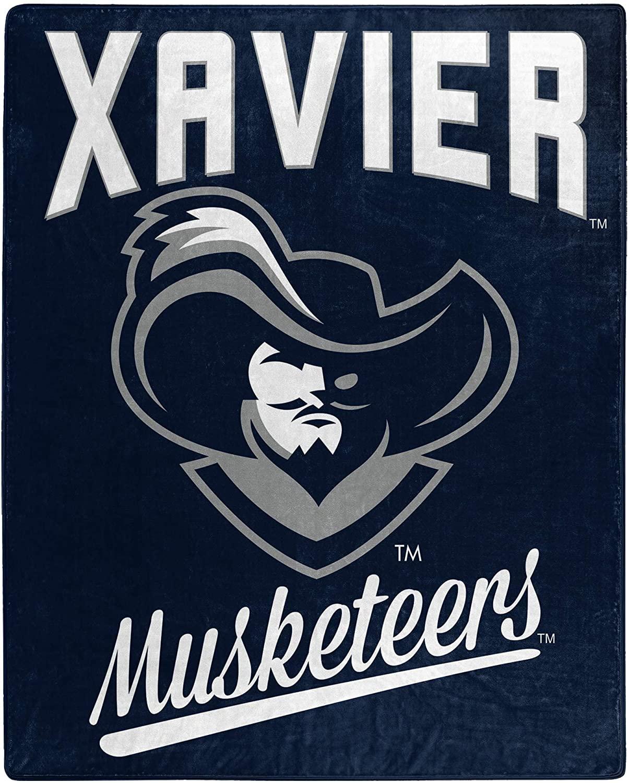 Alumni Silk Touch Throw Blanket Xavier Musketeers Fleece Blanket