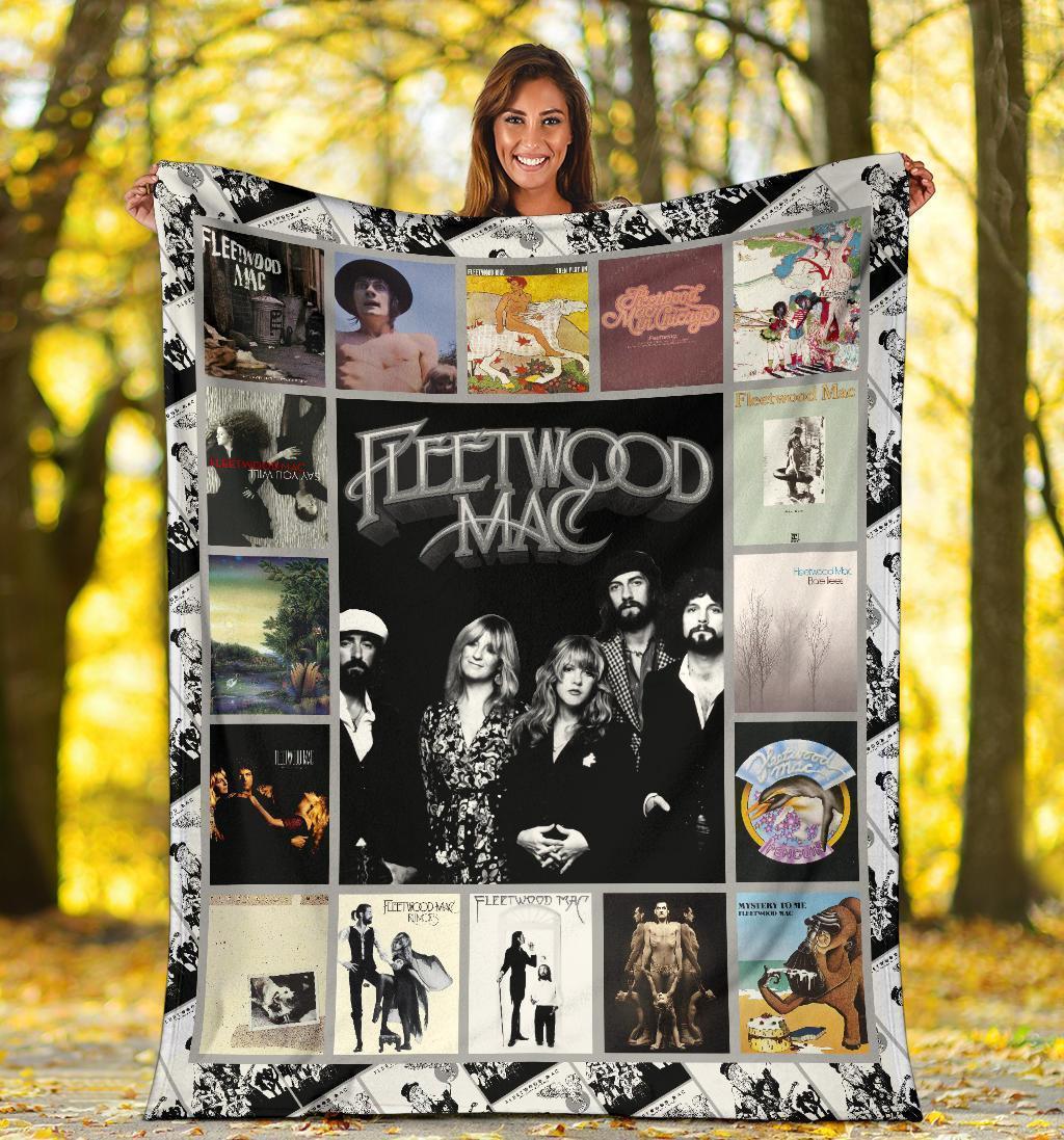 Amazon Best Seller Fleetwood Mac Music Fleece Blanket