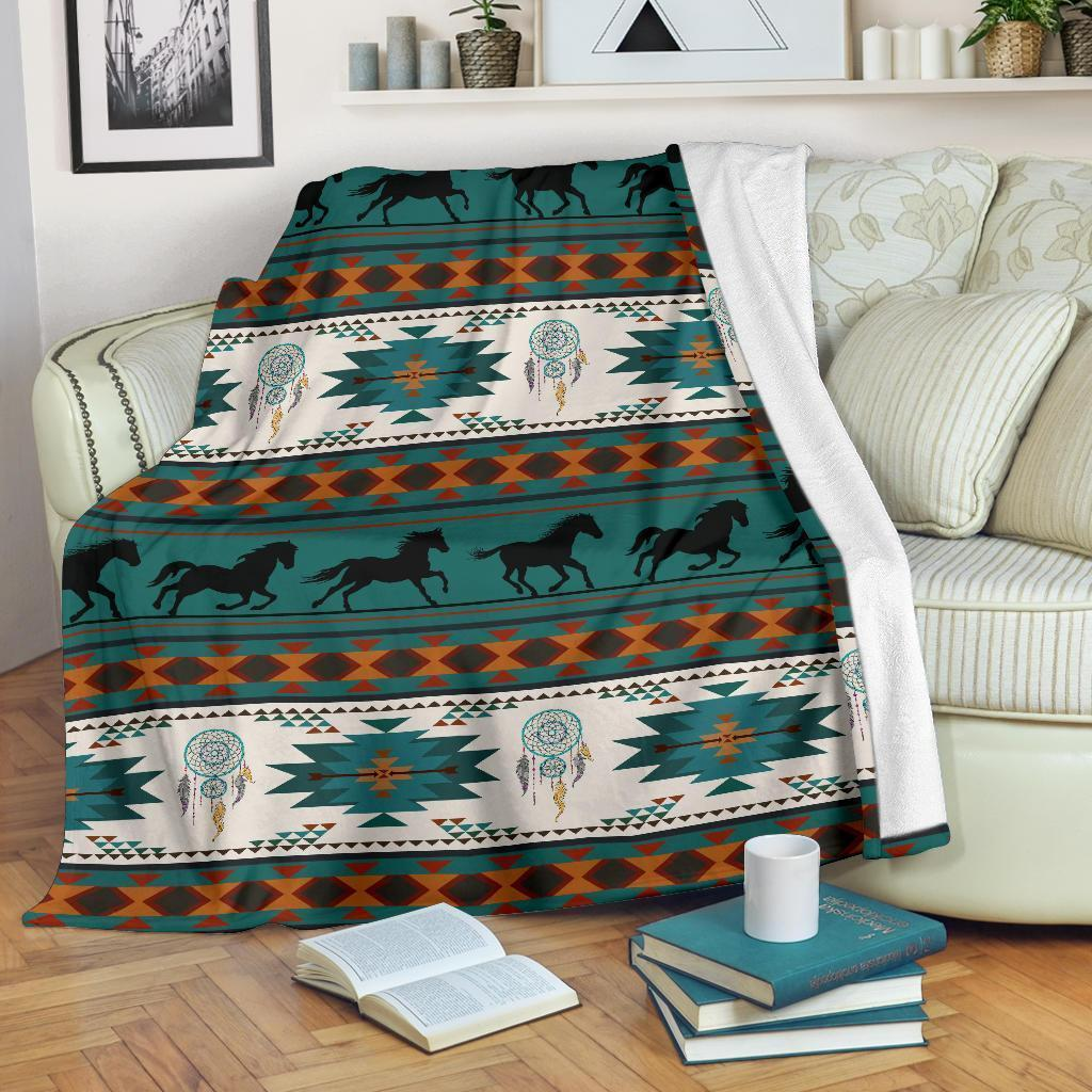 Amazon Best Seller Funny Horse Horse Lover Fleece Blanket