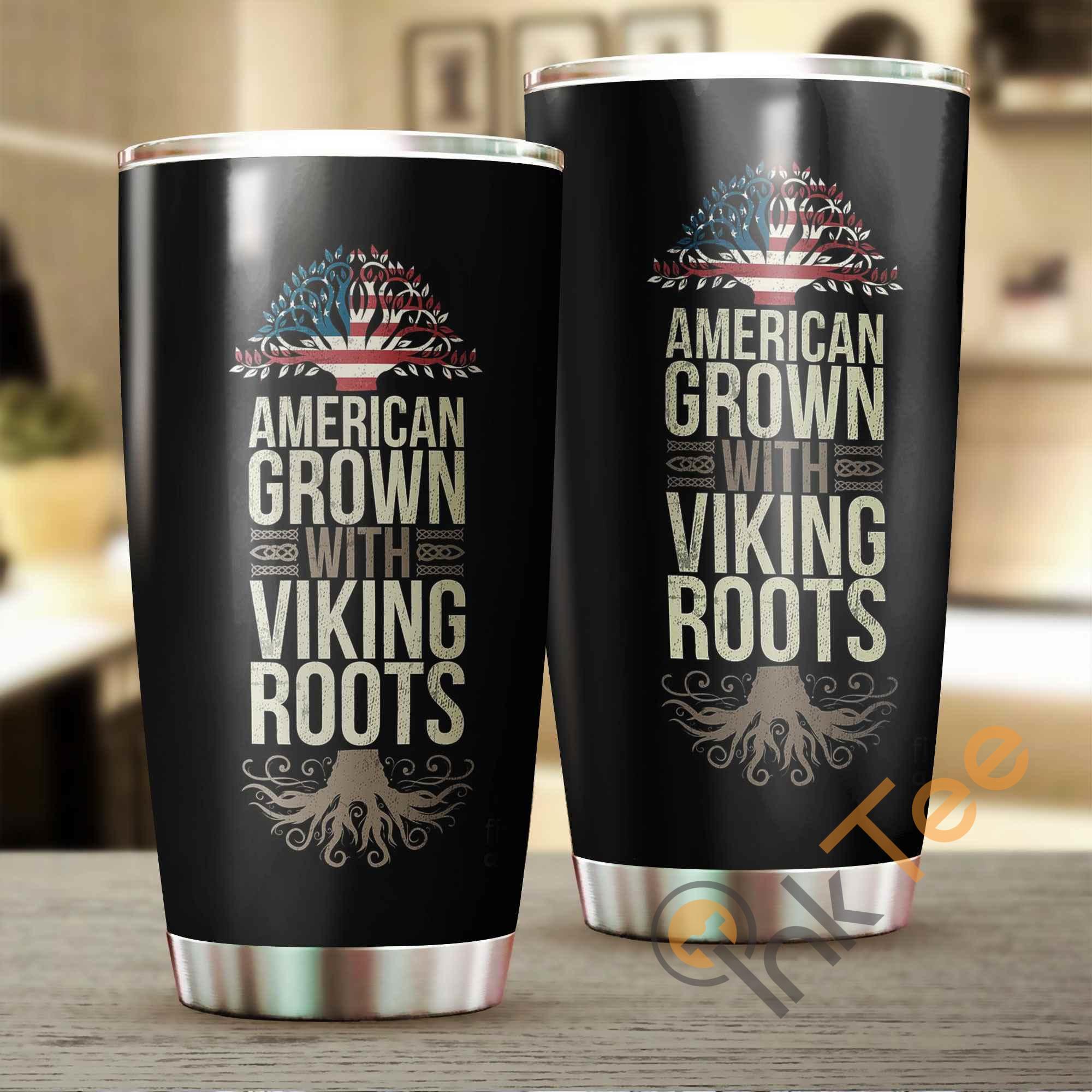 America Grown With Viking Roots Amazon Best Seller Sku 3834 Stainless Steel Tumbler