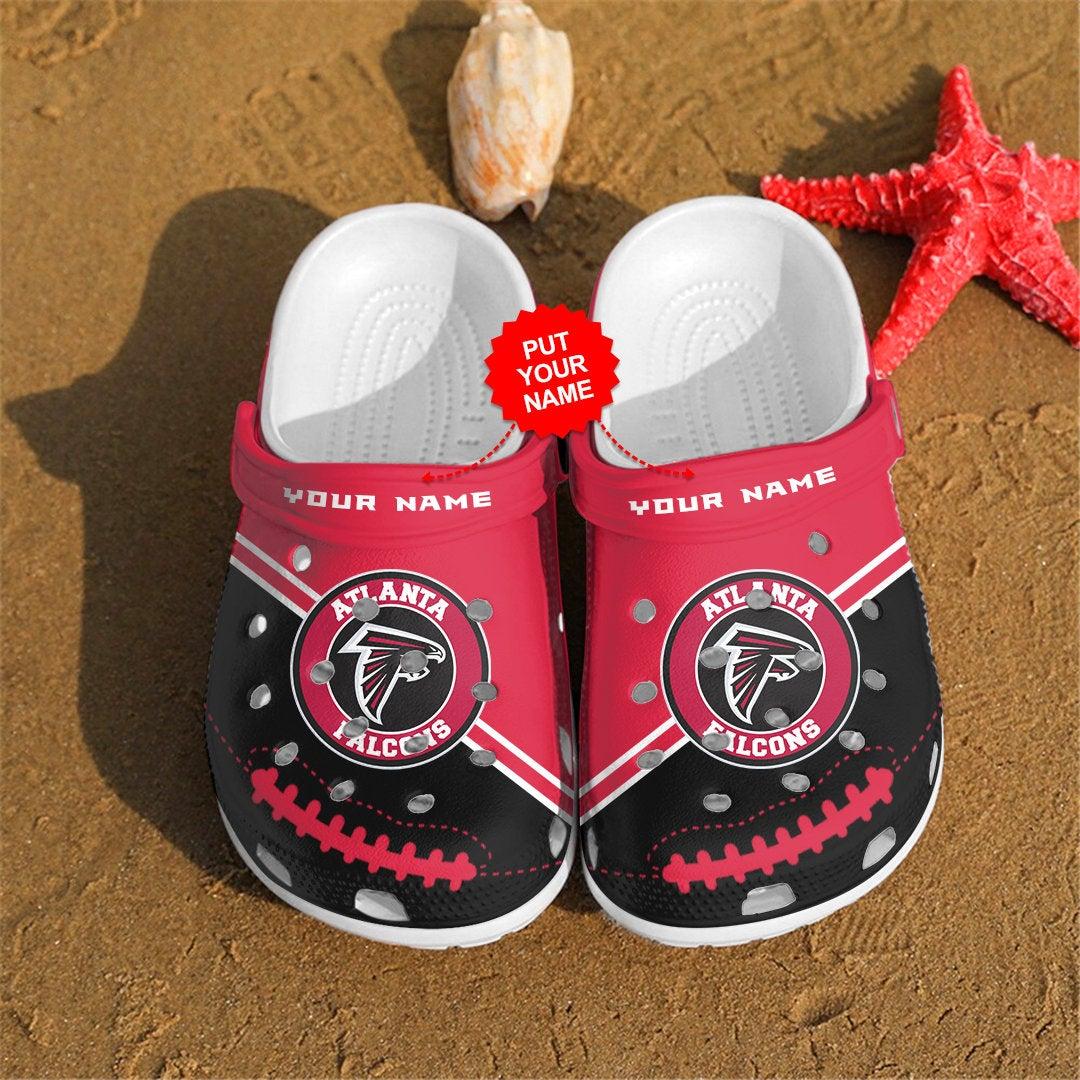 Atlanta Falcons Personalized Custom For Nfl Fans Crocs Clog Shoes