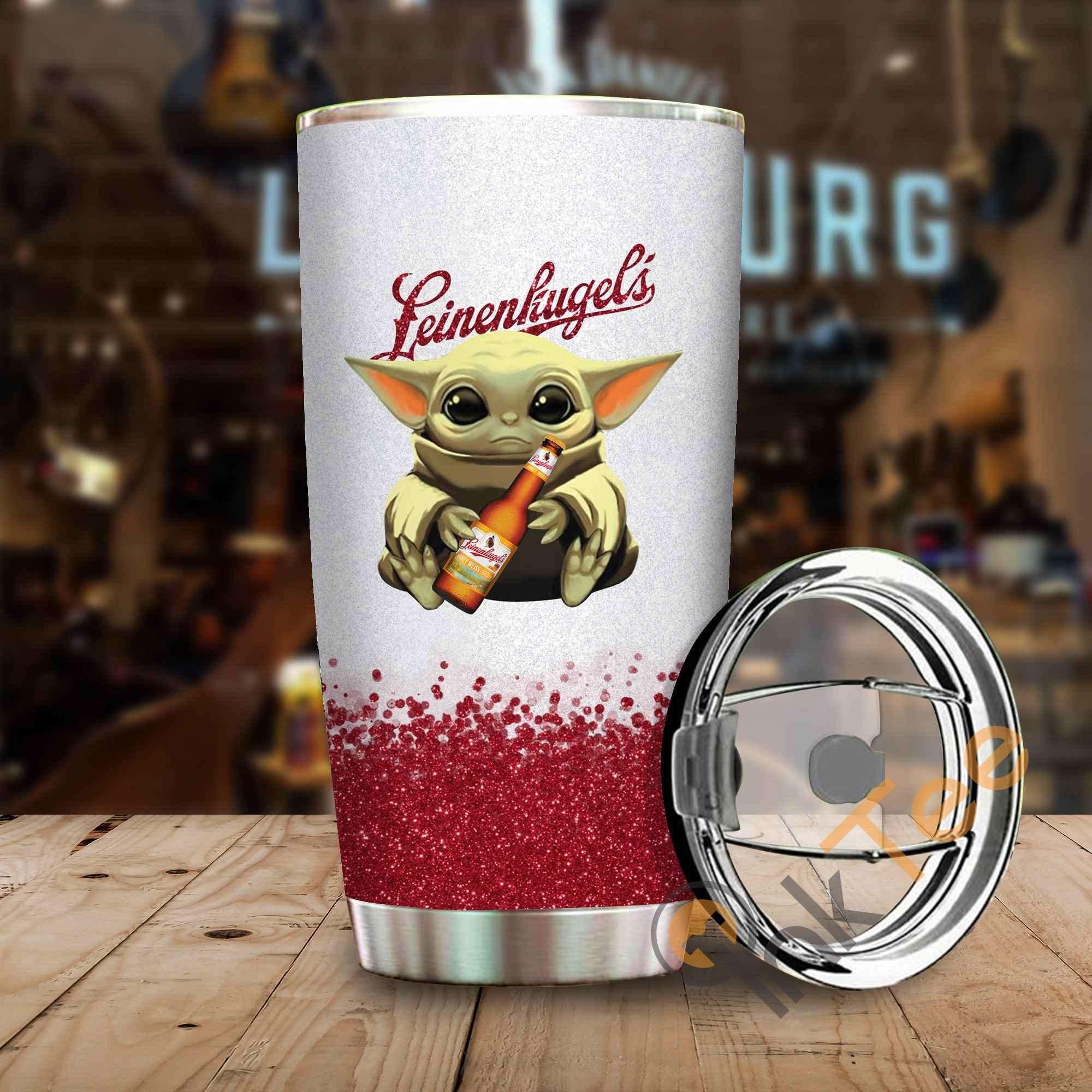 Baby Yoda Hold Leinenkugels Amazon Best Seller Sku 4067 Stainless Steel Tumbler