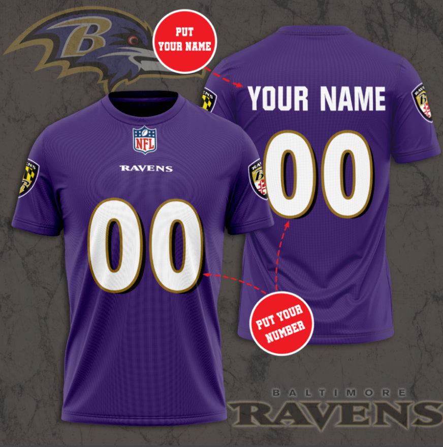 baltimore ravens custom jersey