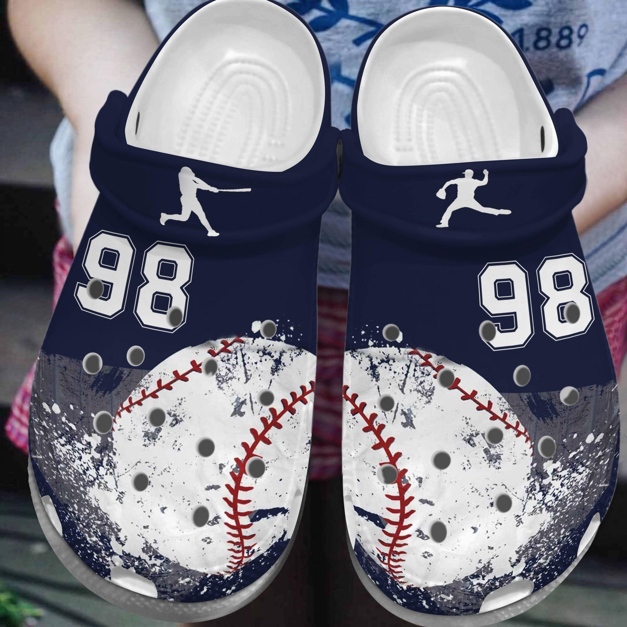 Baseball All Color Series Crocs Clog Shoes