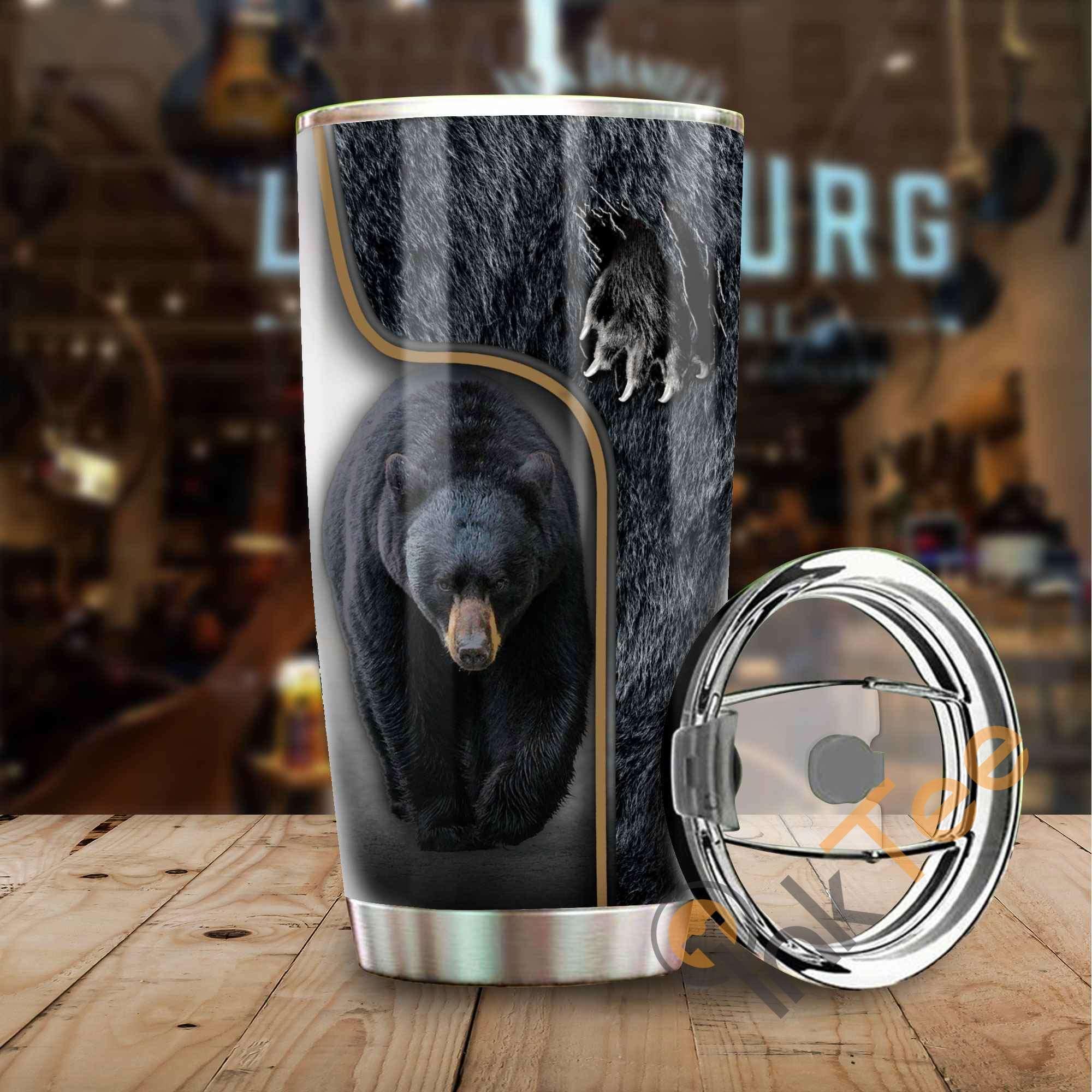 Bear Hunter Stainless Steel Tumbler
