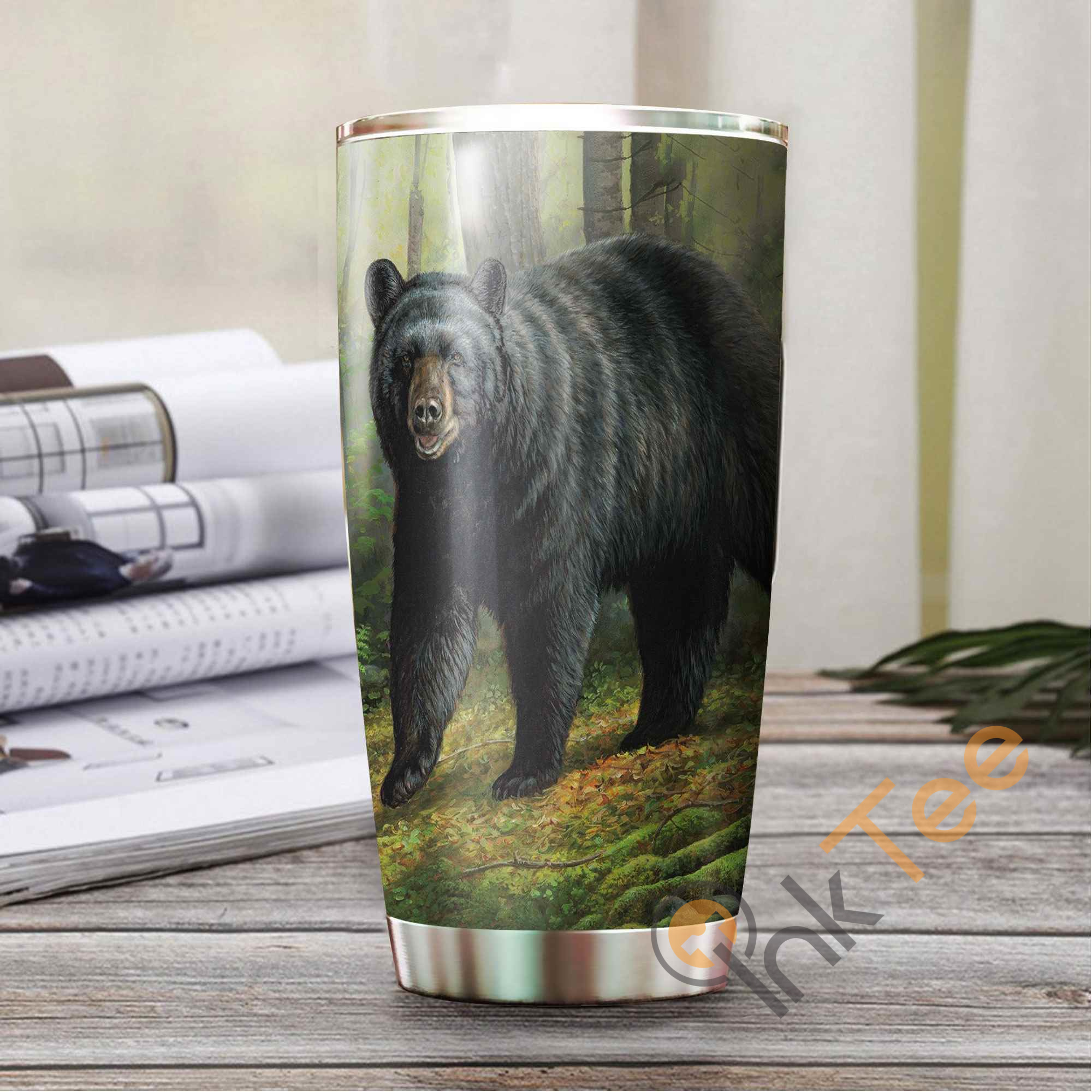 Beautiful Bear Amazon Best Seller Sku 3709 Stainless Steel Tumbler