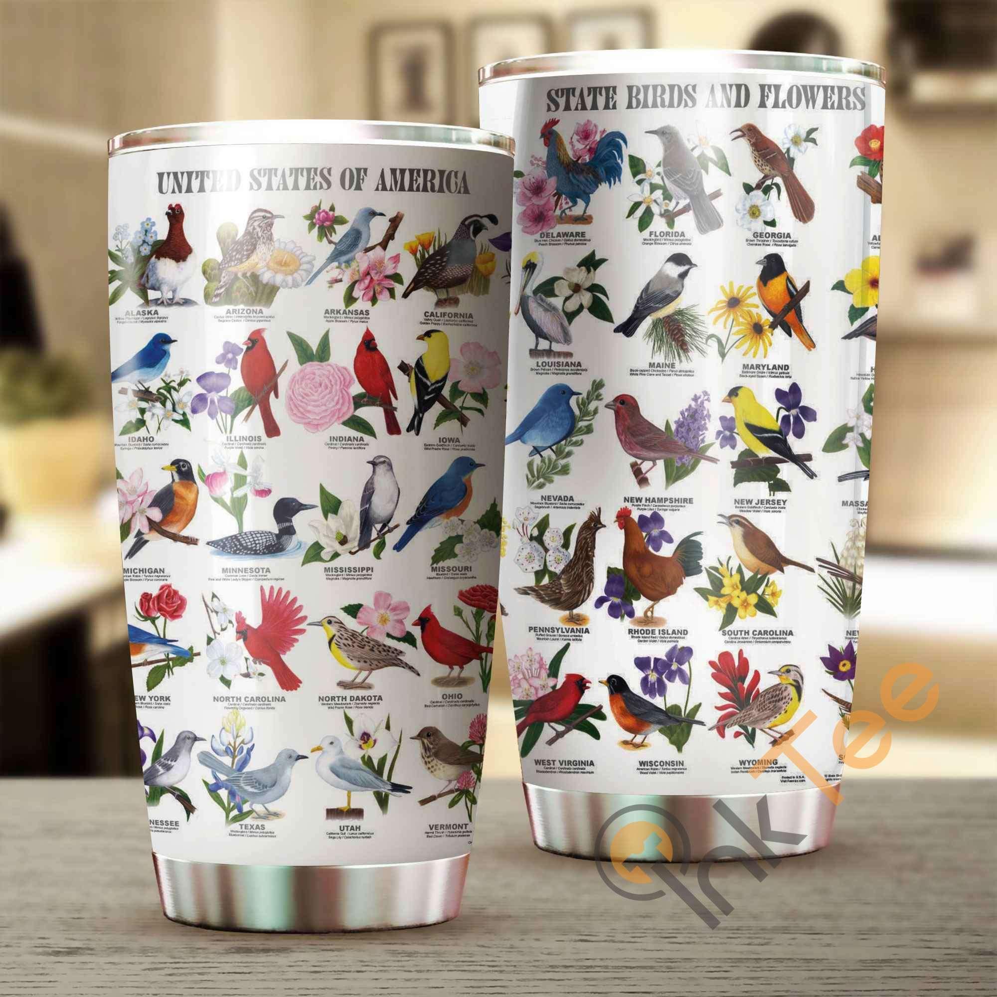 Beautiful Bird Amazon Best Seller Sku 2636 Stainless Steel Tumbler