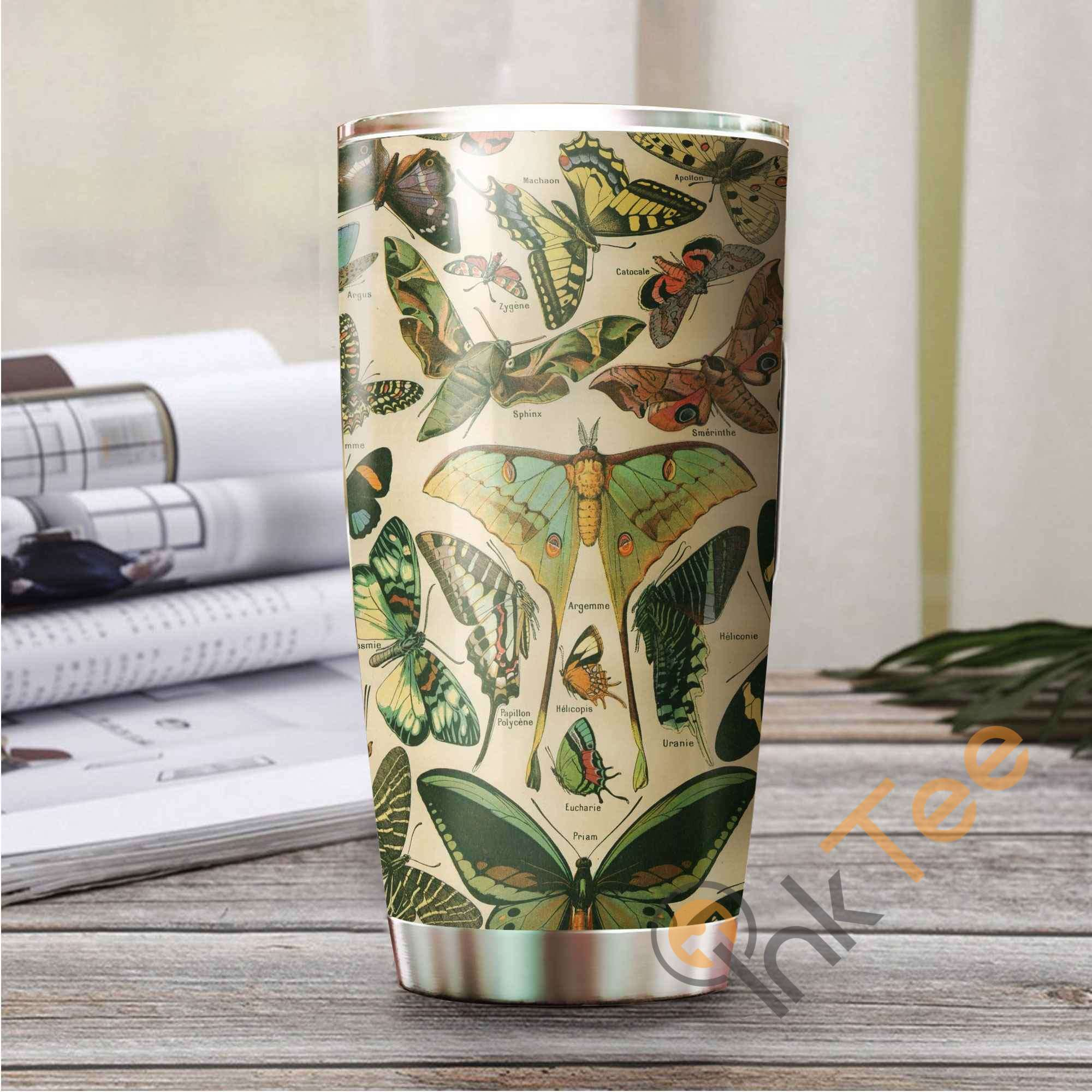 Beautiful Butterfly Amazon Best Seller Sku 3253 Stainless Steel Tumbler