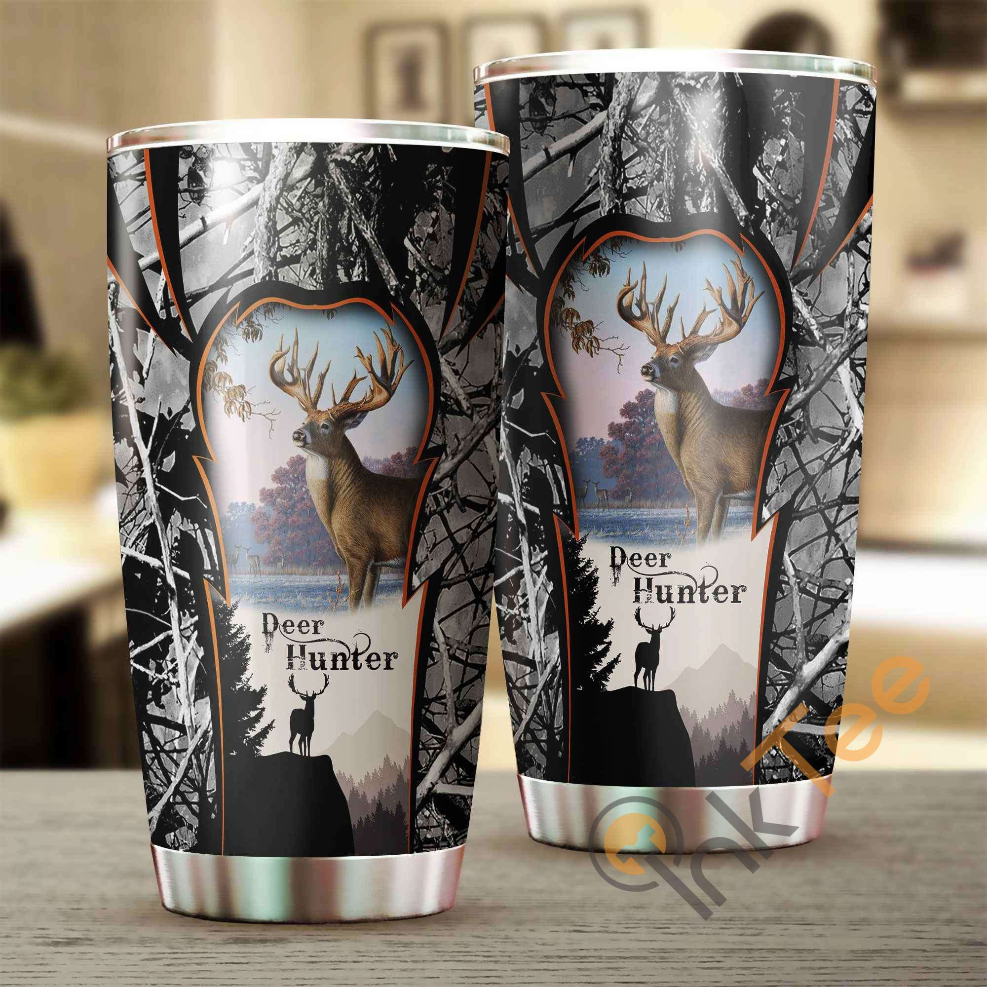 Beautiful Deer Hunting Camo Amazon Best Seller Sku 2632 Stainless Steel Tumbler