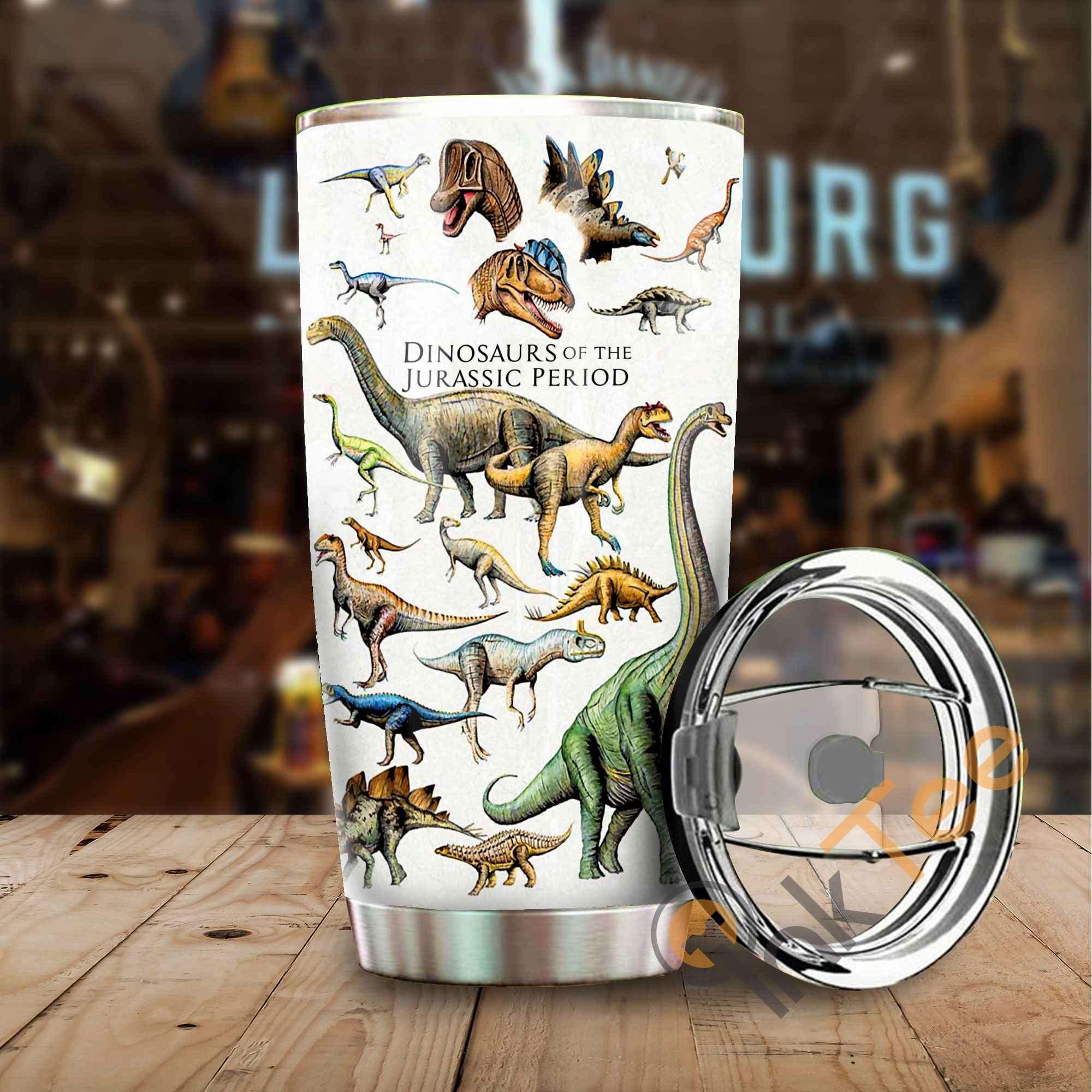 Beautiful Dinosaur Amazon Best Seller Sku 3555 Stainless Steel Tumbler