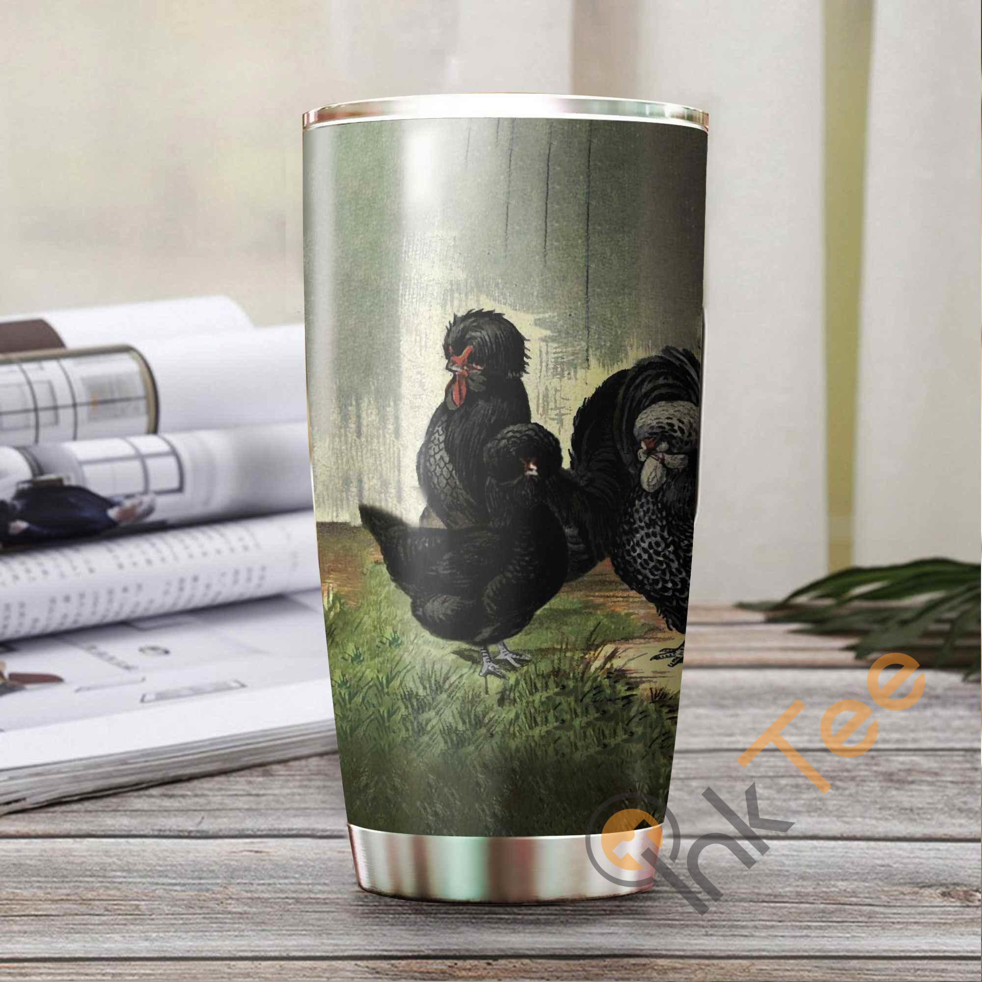 Beautiful French Breeds Chickens Chicken Stainless Steel Tumbler