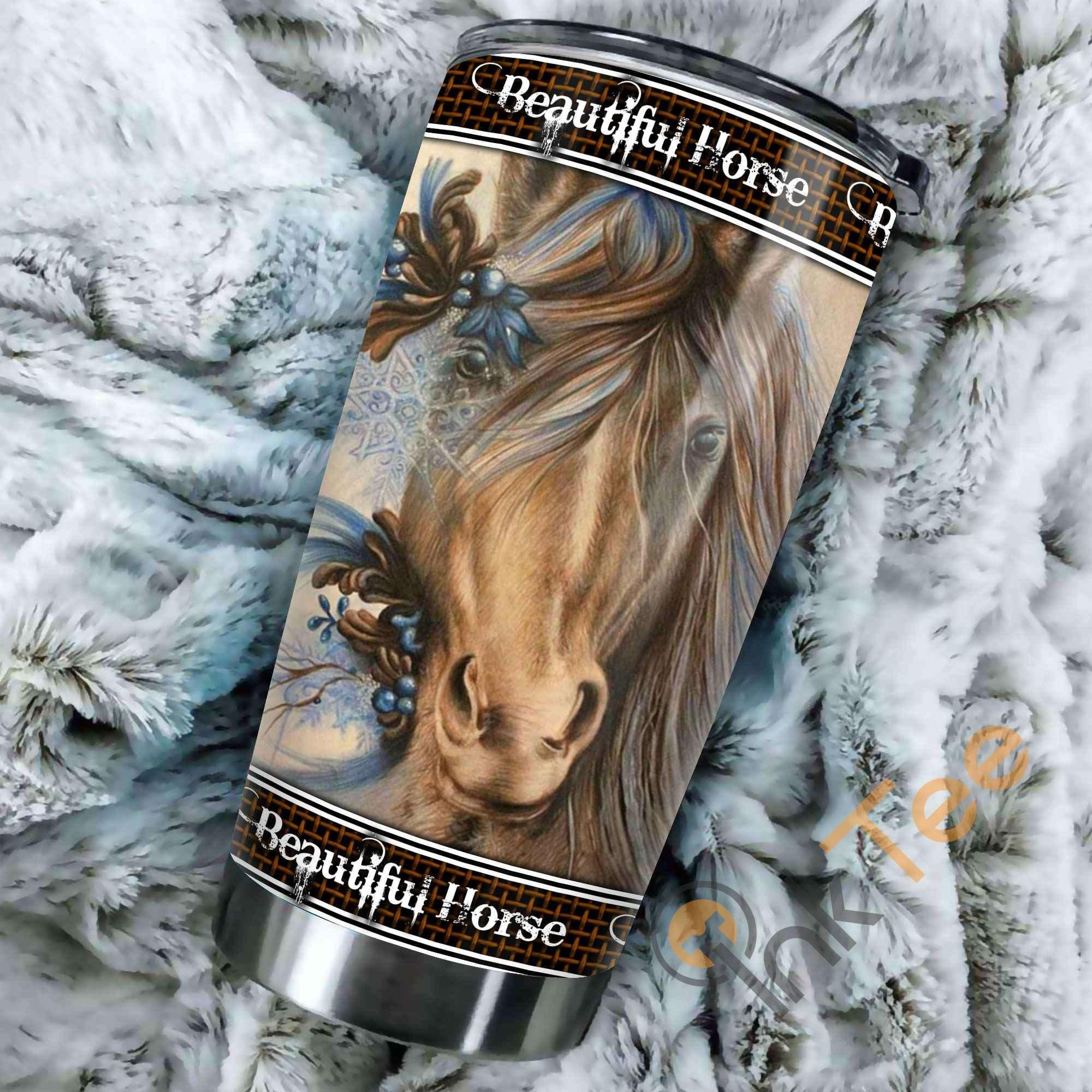 Beautiful Horse Amazon Best Seller Sku 3175 Stainless Steel Tumbler