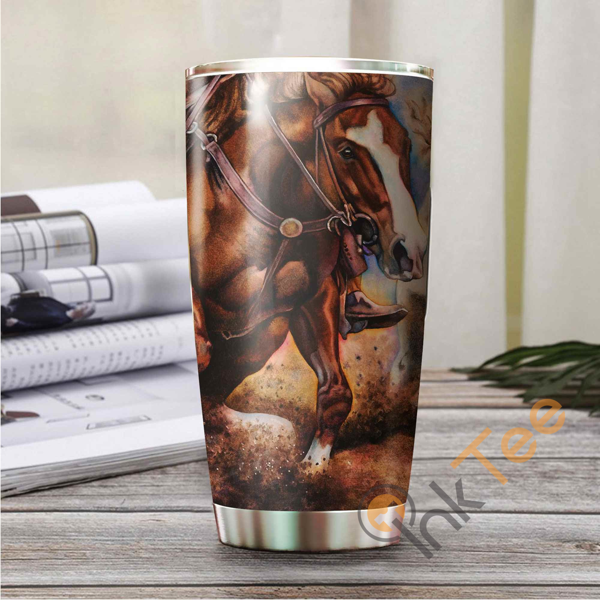 Beautiful Horse Amazon Best Seller Sku 3194 Stainless Steel Tumbler