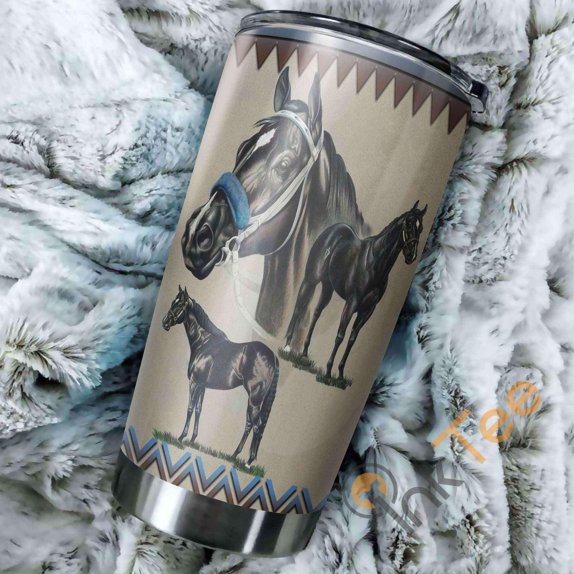 Beautiful Horse Amazon Best Seller Sku 3199 Stainless Steel Tumbler