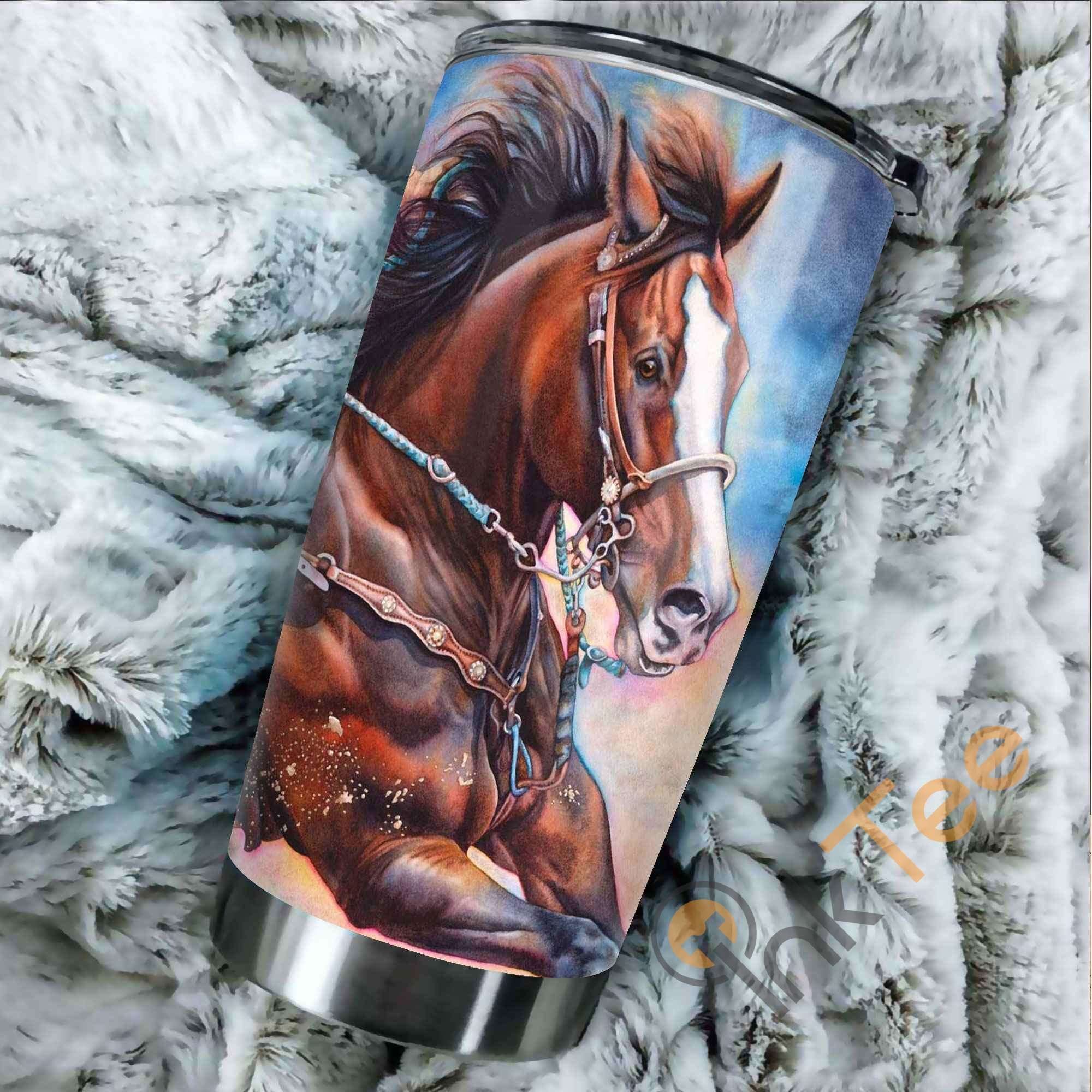 Beautiful Horse Amazon Best Seller Sku 3227 Stainless Steel Tumbler