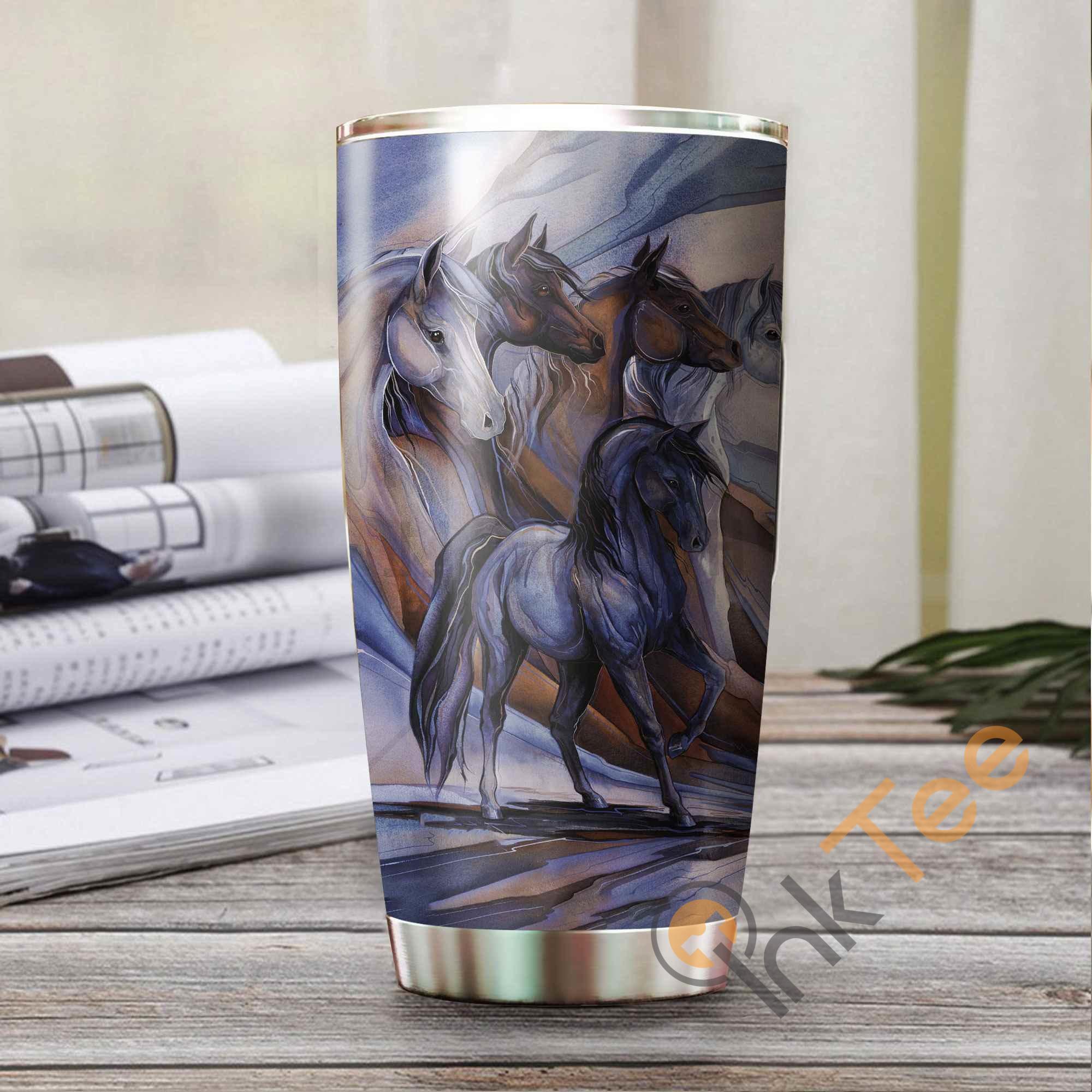 Beautiful Horse Amazon Best Seller Sku 3239 Stainless Steel Tumbler